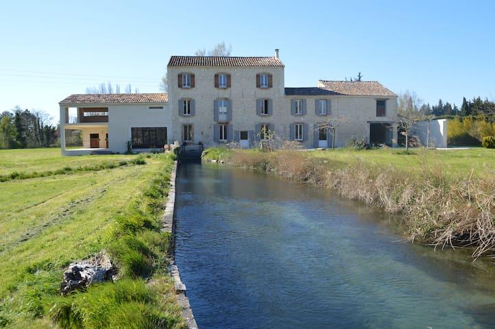 Moulin de charme en Provence - Velleron - House