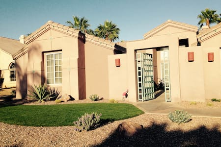 Detached private casita w/bathroom - La Quinta
