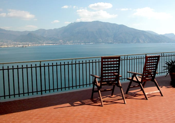 Penthouse near Pompéi et Sorrento - Torre Annunziata - Apartment