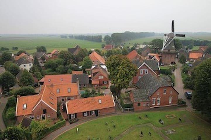 Rysum wurde mehrfach als schönstes Dorf Niedersachsens prämiert.