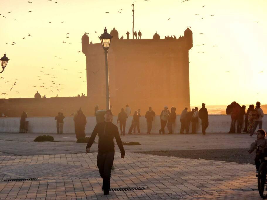 Essaouira  les remppart