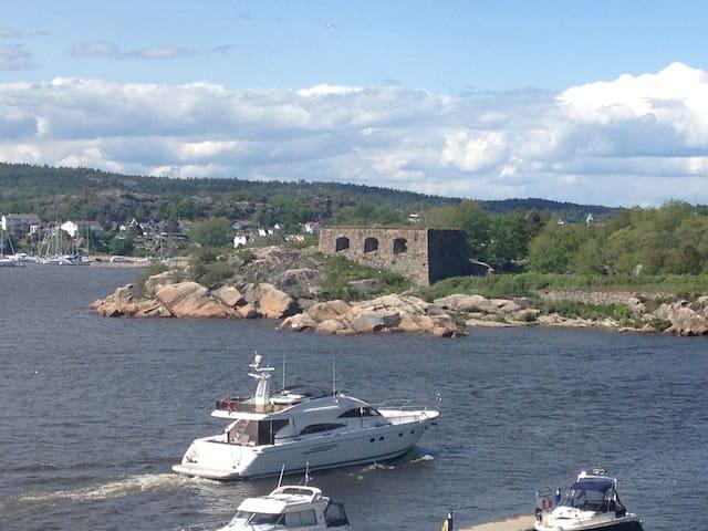Flott leilighet med utsikt til sjøen - Fredrikstad - Daire