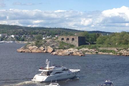 Flott leilighet med utsikt til sjøen - Fredrikstad - 公寓