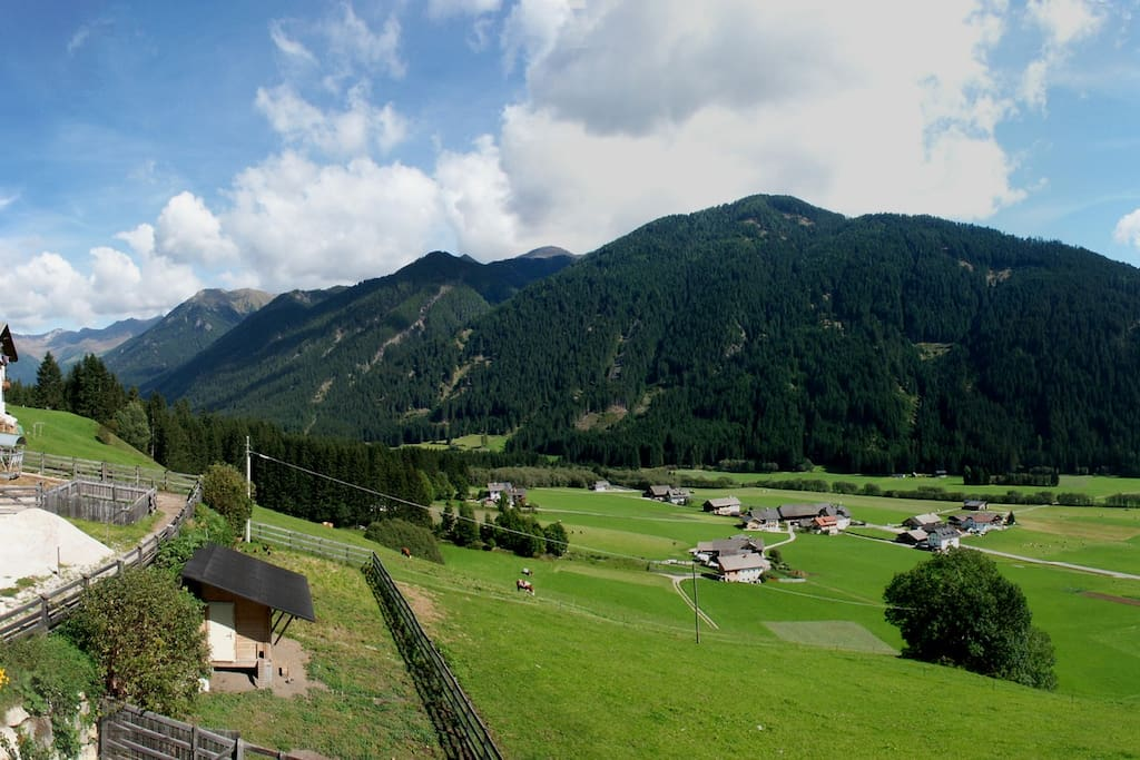 Gsiesertal with the View from the Farm <3