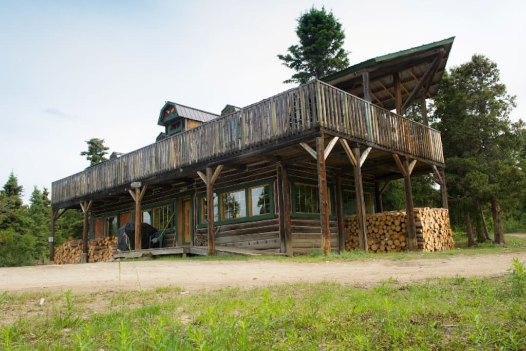 The Lodge in the summer time