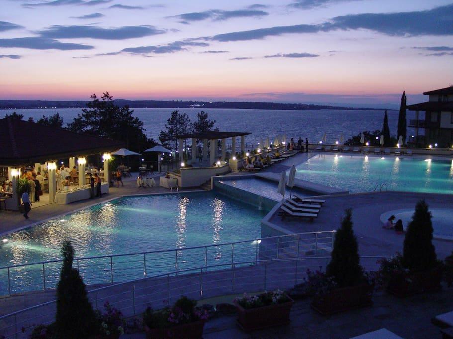 Night in Santa Marina