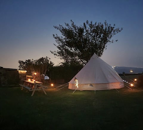 Rural Furnished Bell Tent