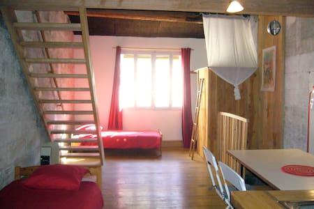 Atypical loft-attic in an old house - Avignon - Loft