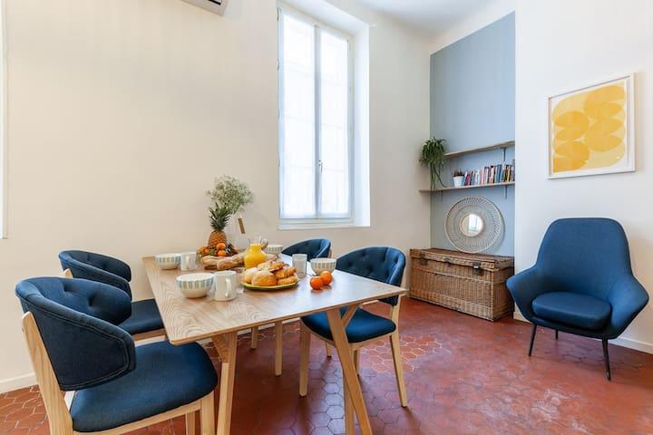Superbe appartement situé place aux huiles