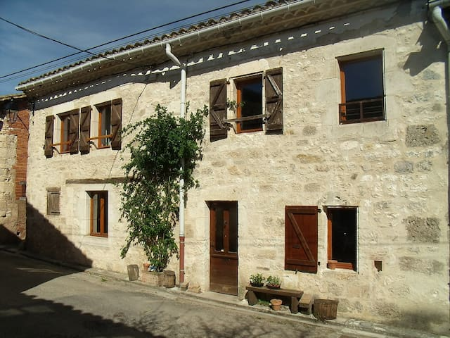 Maison authentique de village - Le Verdier - Casa