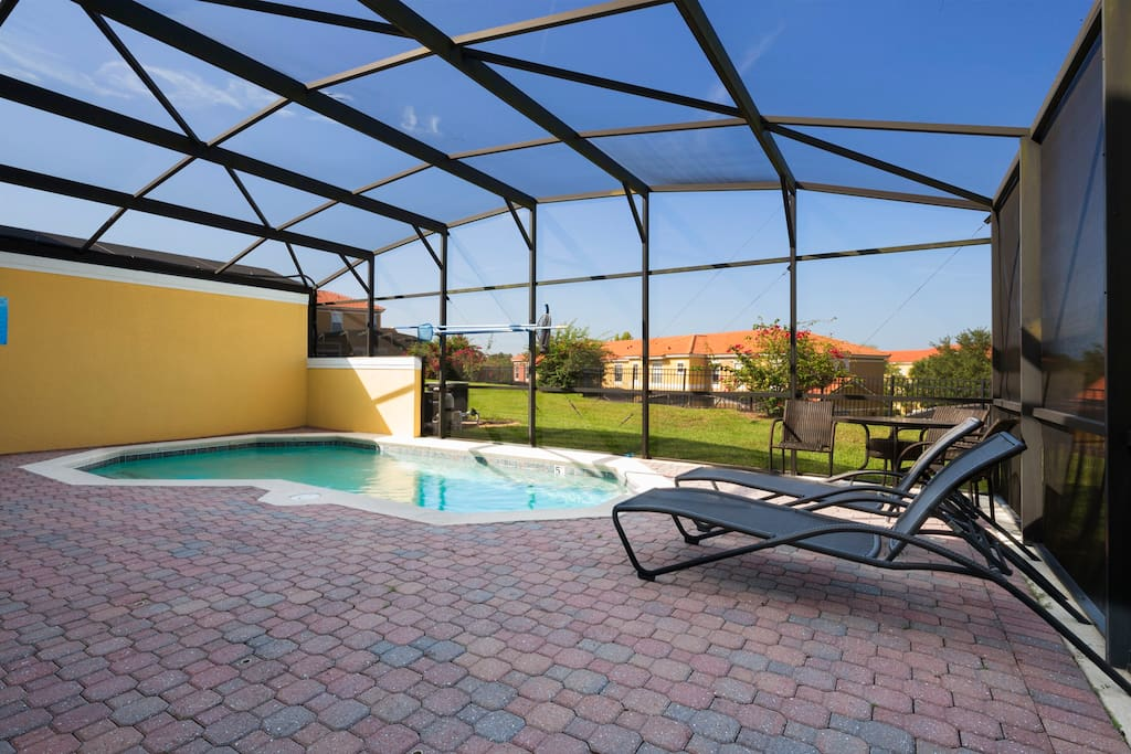 Spend a day away from the theme parks to sit and relax on the deck loungers and to soak in the Florida sunshine.