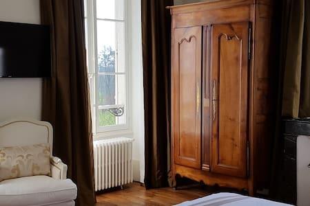 Chambre Orchidées au château - Vallenay