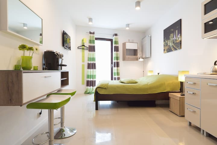 Apartament a-GREEN - Metro Młociny - Warszawa - อพาร์ทเมนท์