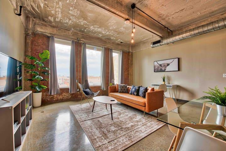 Radiant Downtown Luxury Loft +Ozone Sterile