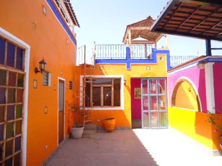 Romance colonial. Calzada de Guadalupe