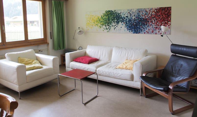 3-Zimmer-Ferienwohnung, Chalet Daria - Kandersteg
