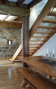 Converted barn in rural location - Barcenillas - Dům