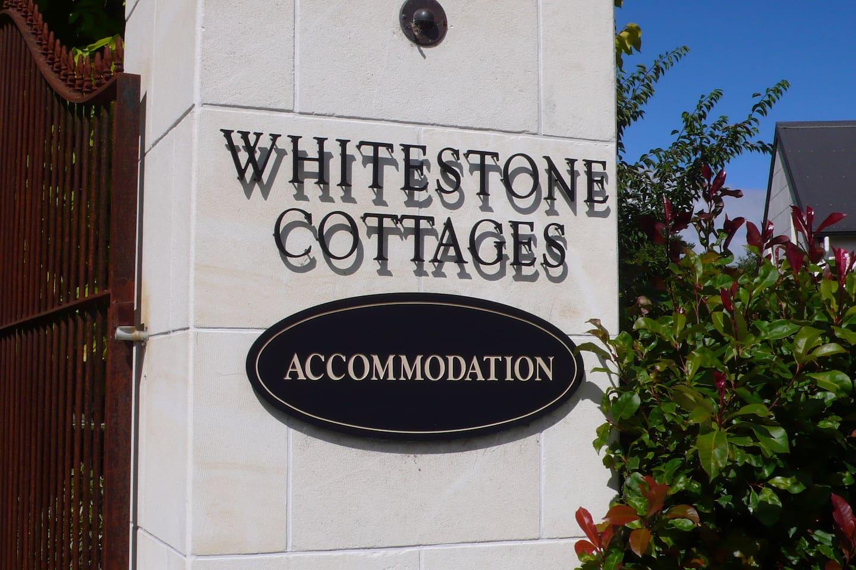 Whitestone Cottages - Main Entrance