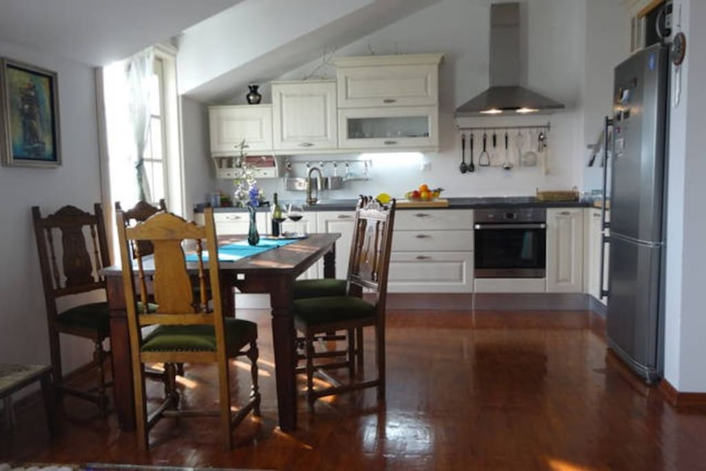 Kitchen from livingroom