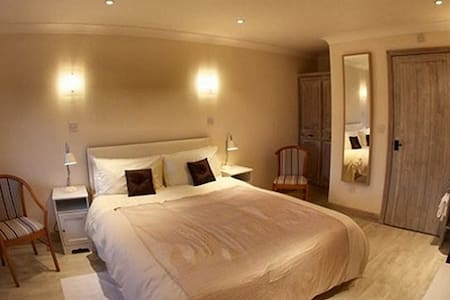 Double room at The Live and Let Live