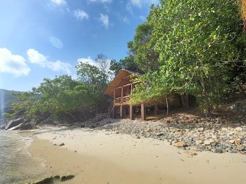 Private beach Villa. Anambas islands