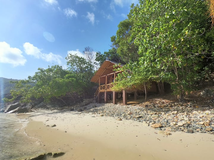 Private beach Villa. Anambas islands
