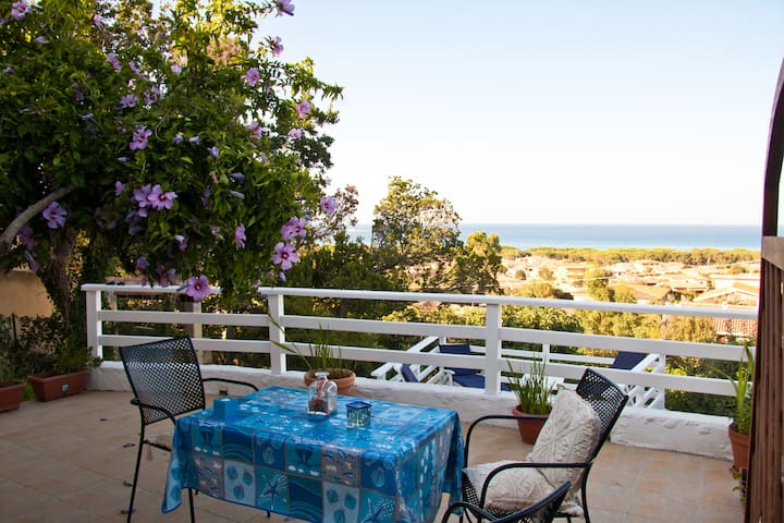 With terrace overlooking the sea - Siniscola - Bed & Breakfast