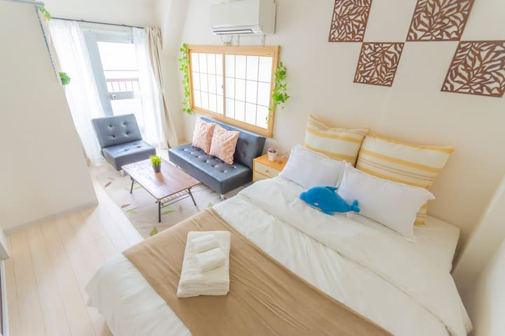 Near JR Ikebukuro Station/comfortable apt/WIFI 301
