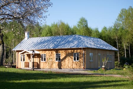 Retro style Scandinavian House close to Wildlife
