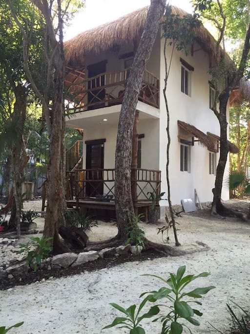 Villa candelas jungle cenote beach villas louer for Villas quintana roo