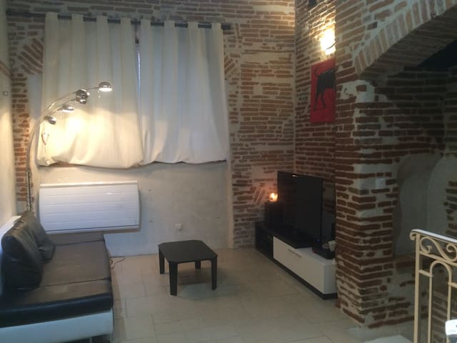 Appartement en brique en centre. - Montauban - Apartemen