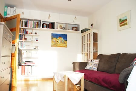 My lovely and comfy place is located in the best summer area of Gdansk! Can host 4 ppl in db bedroom and livingroom.