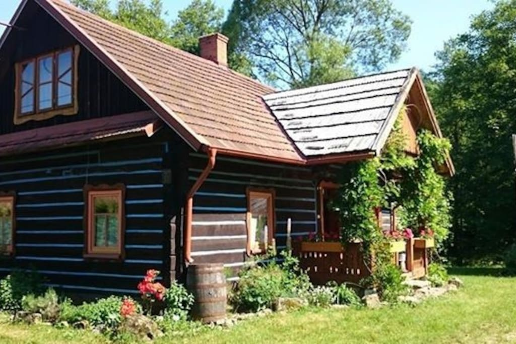 Pietrusza wola 50 forest log cabin cabins for rent in for 3 bedroom log cabin prices