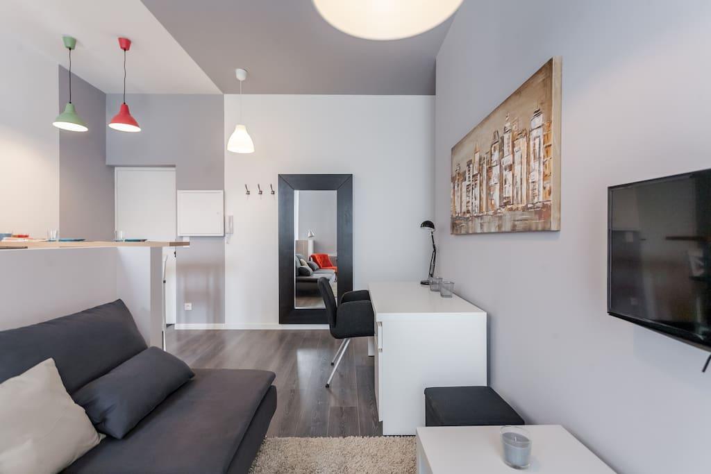 Loft style modern apartment appartements louer - Loft a louer bordeaux ...
