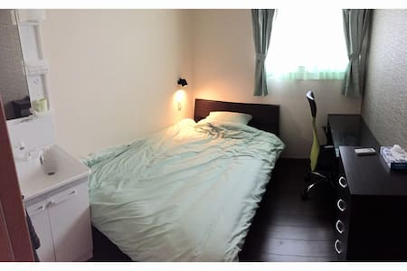 B&B 4 Rooms Semi-double Bed Room - 那覇市 - Bed & Breakfast