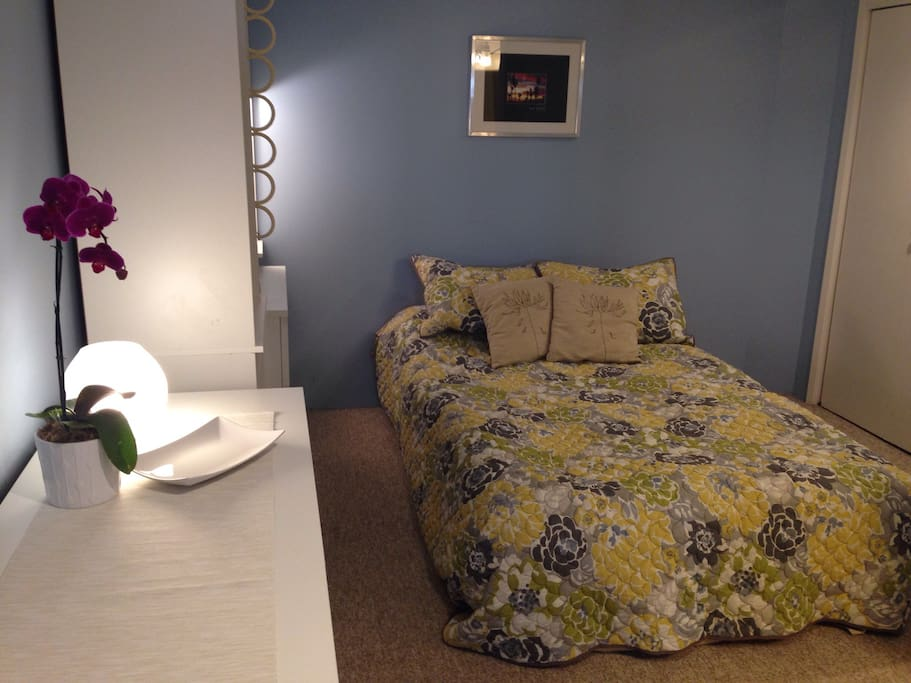 Your cozy room awaits!