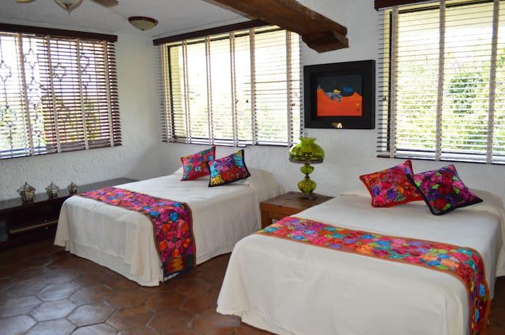 Junior Suite, con 2 Super cómodas camas Quin