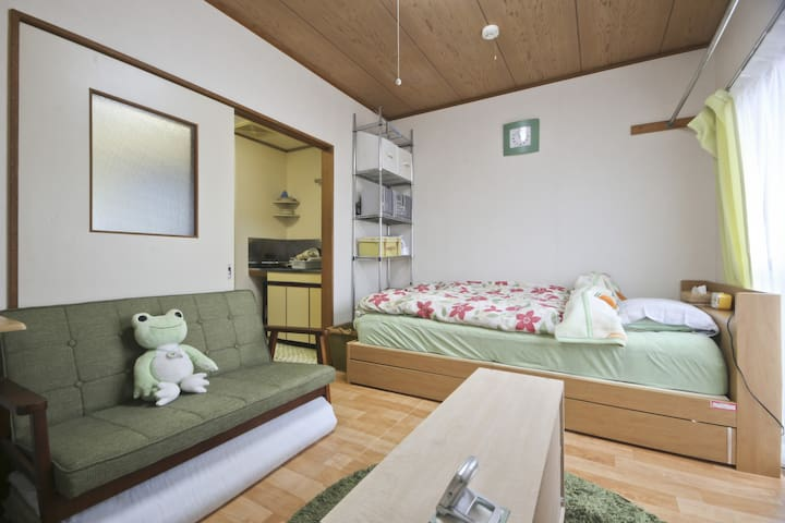 5mins from Mizuhodai station!Free Wifi&car parking - Fujimi - Lägenhet