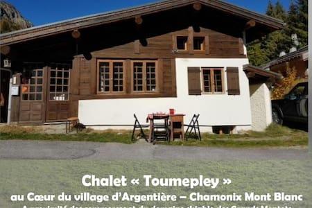 Chalet «Toumepley» à Argentière face au MontBlanc