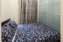 Спальня с двуспальной кроватью | Bedroom with double (140 cm) bed