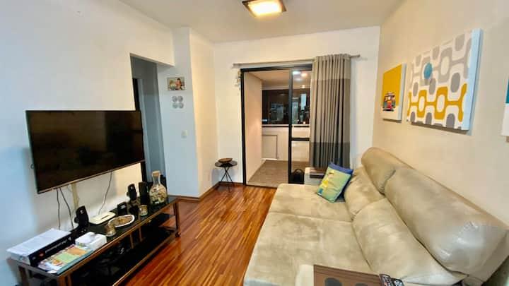 Apartamento completo no Brooklin/Moema