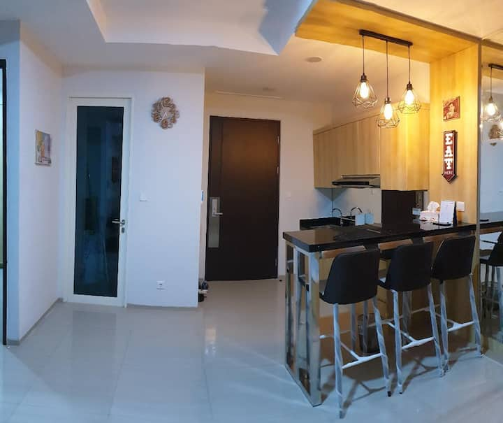 2 Bedroom New Aprt. citralake suites, west Jakarta