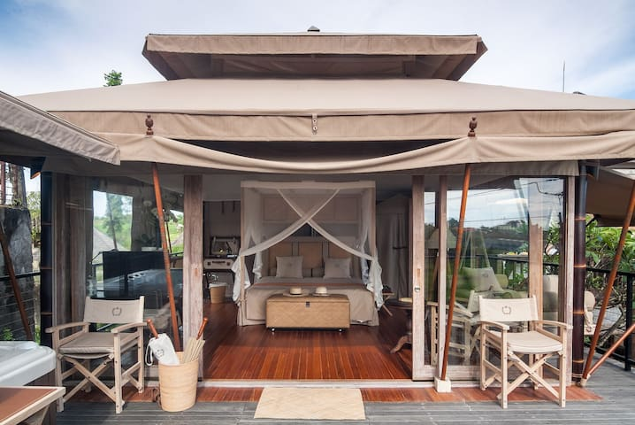 Experience the unique. Exclusive tent in Canggu
