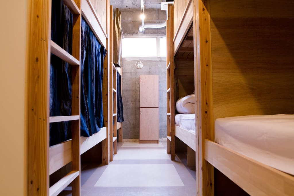 Mixed dormitory / 男女混合ドミトリー