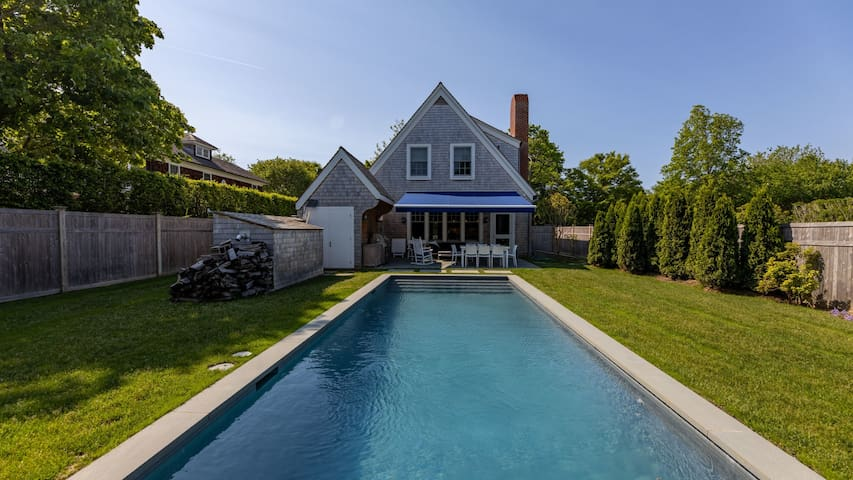 New Listing: New Construction w/ Heated Pool, Walk to Village & Beach