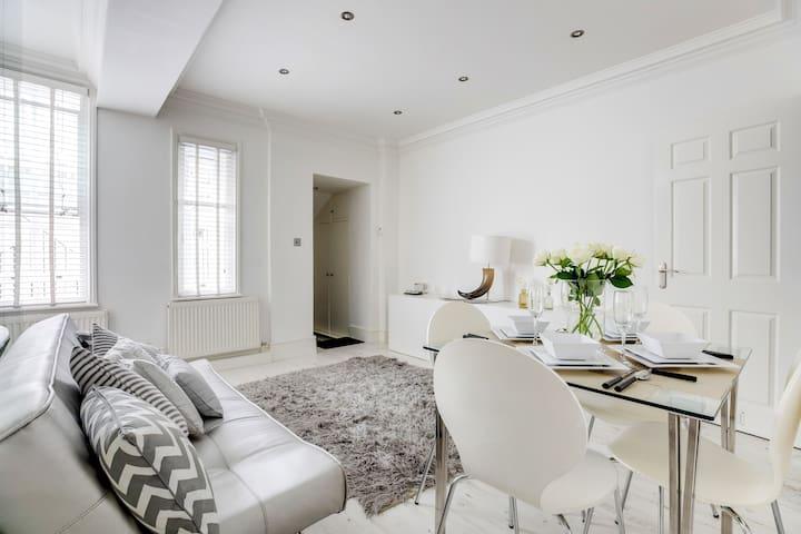 Bright Sloane Square Apartment