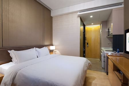 A1 Superior King Room 5 stars Apartment - Tian He - Guangzhou