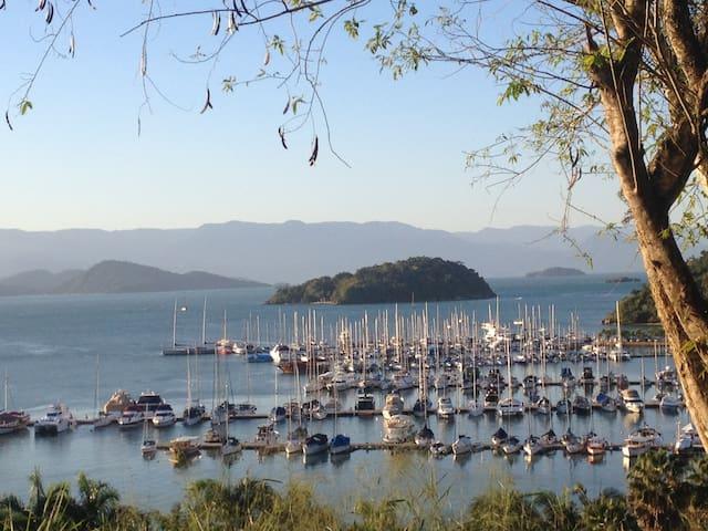 Melhor Vista, Localização,  Praia,  Marina, Paraty