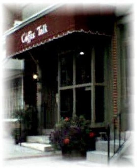Front of Coffee Talk