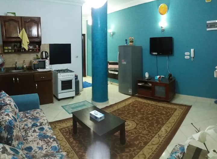 Quite &Cozy apartment in downtown with free WiFi